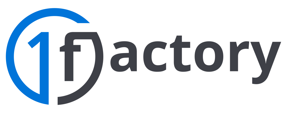 1factory, Inc. Logo